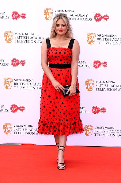 Emily Atack「Virgin Media British Academy Television Awards 2019 - Red Carpet Arrivals」:写真・画像(13)[壁紙.com]