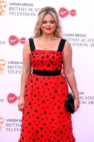 Emily Atack「Virgin Media British Academy Television Awards 2019 - Red Carpet Arrivals」:写真・画像(9)[壁紙.com]