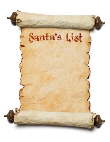 Manuscript「Santa's List」:スマホ壁紙(16)