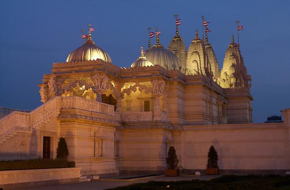 Architectural Feature「Hindu Temple In Neasdon, London, UK」:写真・画像(12)[壁紙.com]