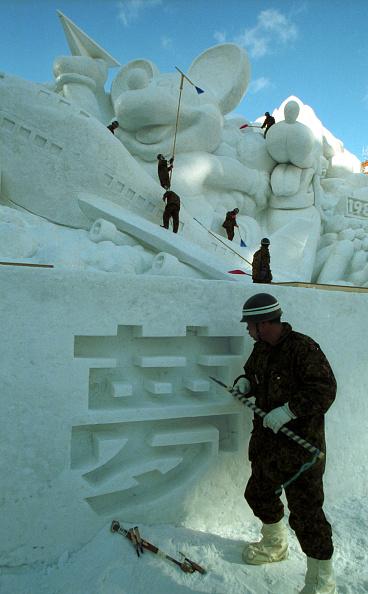 Mombetsu Ice Festival「Sapporo Snow Festival- opened to the public Feb. 6」:写真・画像(15)[壁紙.com]