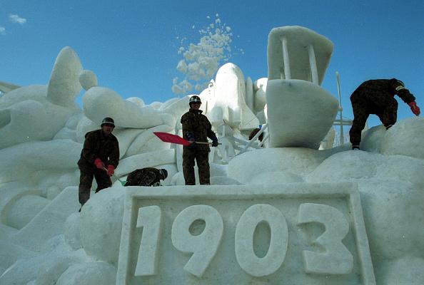 Mombetsu Ice Festival「Sapporo Snow Festival- opened to the public Feb. 6」:写真・画像(18)[壁紙.com]