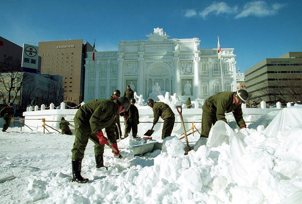 Mombetsu Ice Festival「Sapporo Snow Festival- opened to the public Feb. 6」:写真・画像(19)[壁紙.com]