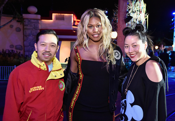 "Celebration Event「Disney kicks off ""Mickey the True Original"" campaign in celebration of Mickey's 90th anniversary with a fashion show at Disneyland featuring a Mickey-inspired collection by Opening Ceremony」:写真・画像(12)[壁紙.com]"