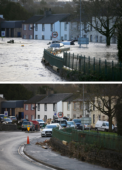 Composite Image「Cumbria Counts The Cost Of Flood Damage As The Water Begins To Recede」:写真・画像(19)[壁紙.com]