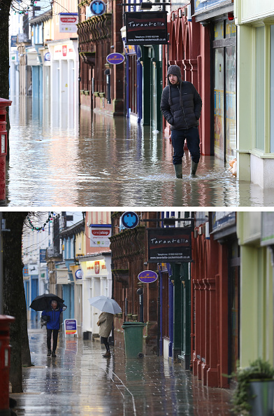 Composite Image「Cumbria Counts The Cost Of Flood Damage As The Water Begins To Recede」:写真・画像(17)[壁紙.com]