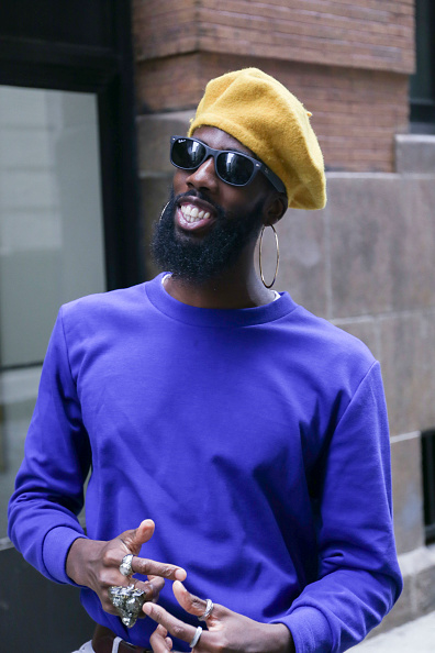 Achim Aaron Harding「Street Style - New York Fashion Week September 2018 - Day 4」:写真・画像(16)[壁紙.com]