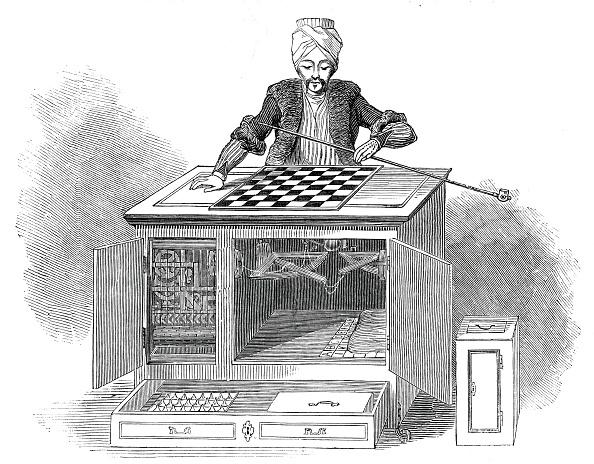 Robot Arm「The Automaton Chess Player」:写真・画像(1)[壁紙.com]