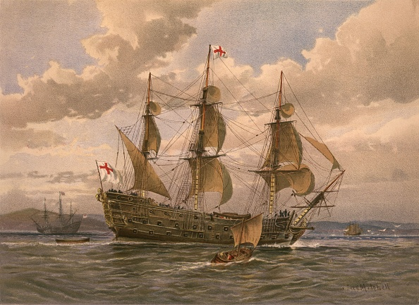 17th Century「Naval Battleship」:写真・画像(5)[壁紙.com]