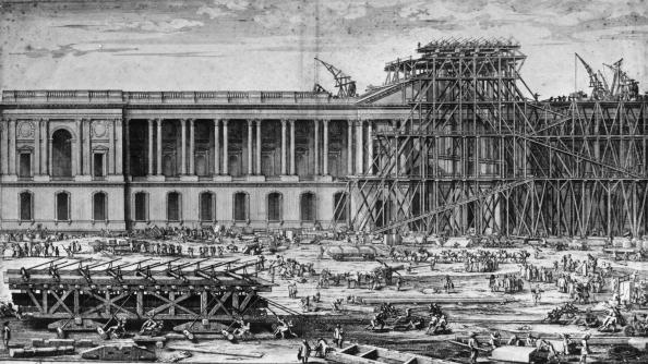 Construction Site「The Louvre」:写真・画像(8)[壁紙.com]