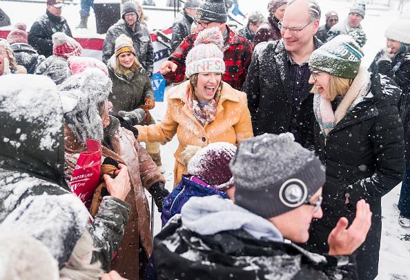 Minnesota「Minnesota Senator Amy Klobuchar Announces Candidacy For President」:写真・画像(12)[壁紙.com]
