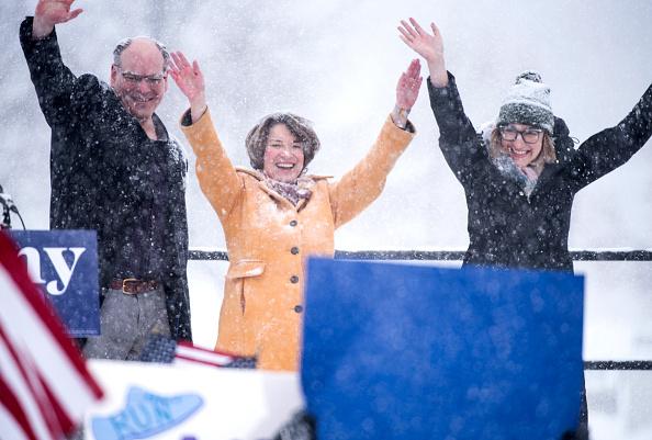 Husband「Minnesota Senator Amy Klobuchar Announces Candidacy For President」:写真・画像(12)[壁紙.com]