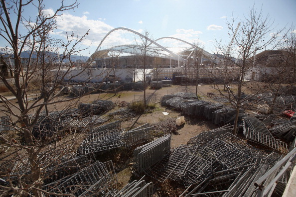Sports Venue「Signs of Decay on the Athens 2004 Olympic Games Complex」:写真・画像(7)[壁紙.com]