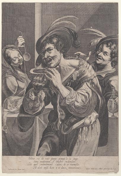 カトラリー「Man Drinking Soup While Two People Watch Him」:写真・画像(13)[壁紙.com]