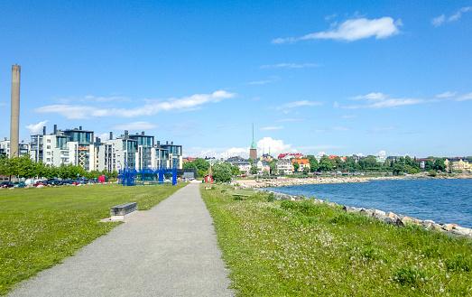 Finland「Beautiful landscape on the road of Helsinki, Finland」:スマホ壁紙(18)