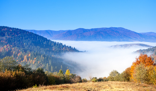Ukraine「Beautiful landscape with hills and mountais」:スマホ壁紙(12)