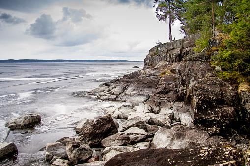 Finland「Beautiful Landscape View of Lake Tampere, Finland」:スマホ壁紙(10)