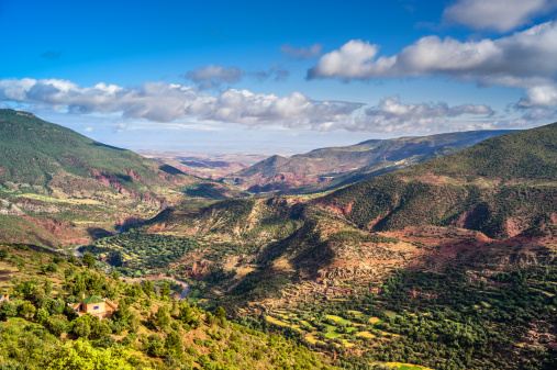 Atlas Mountains「Beautiful landscape in the High Atlas」:スマホ壁紙(14)