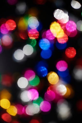 大晦日「Defocused view of New Years lights. Debica, Poland」:スマホ壁紙(8)