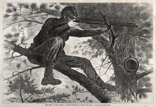 Responsibility「The Army Of The Potomac - A Sharpshooter On Picket Duty」:写真・画像(14)[壁紙.com]