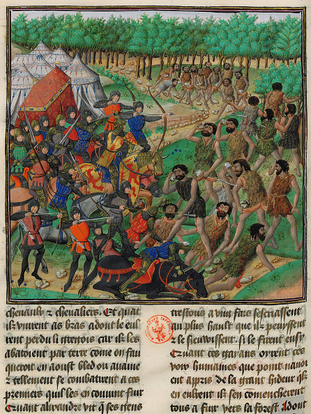 Manuscript「The Army Of Alexander The Great Fights The Giants」:写真・画像(3)[壁紙.com]