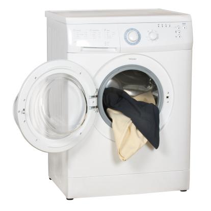 Laundry「Washing machine (clipping path), isolated on white background」:スマホ壁紙(1)