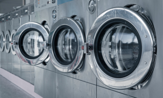 Laundromat「Washing Machines in Laundromat」:スマホ壁紙(11)