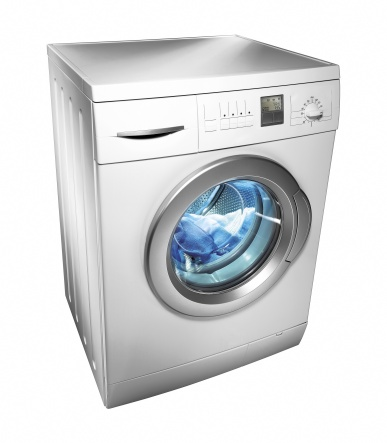 Laundry「Washing machine (isolated with clipping path over white background)」:スマホ壁紙(18)