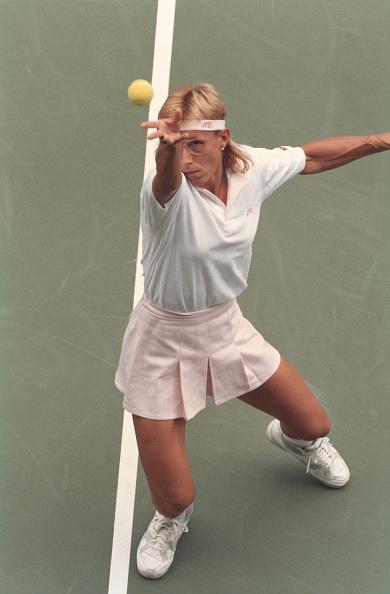 テニス「Martina Navratilova On The Court」:写真・画像(10)[壁紙.com]