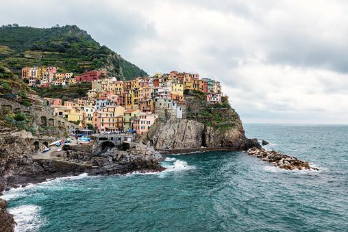 Cinque Terre「Manarola - Cinque Terre, Italy」:スマホ壁紙(7)