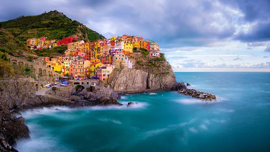 Manarola「Manarola, Cinque Terre, Liguria, Italy」:スマホ壁紙(4)