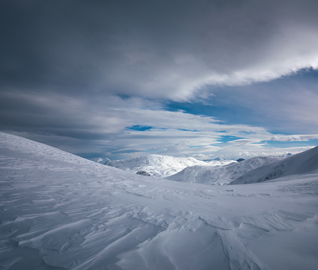 Dachstein Mountains「Snowcapped Mountains」:スマホ壁紙(9)