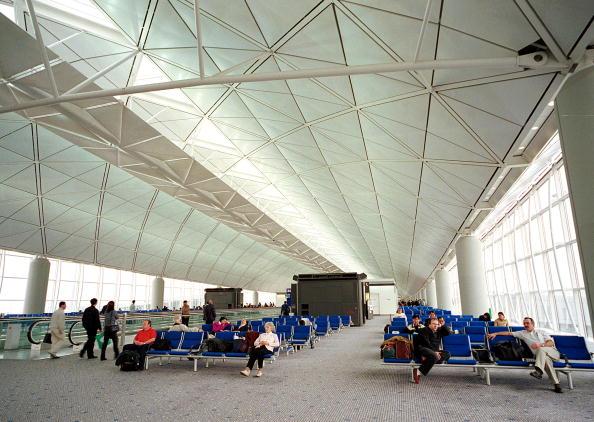 Airport Departure Area「Hong Kong''s Chek Lap Kok Airport」:写真・画像(14)[壁紙.com]