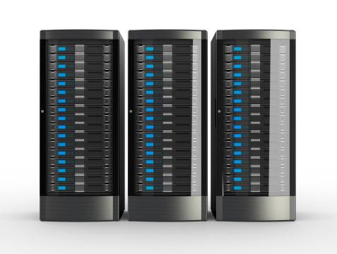 Security System「Rack of High Performance Servers」:スマホ壁紙(1)