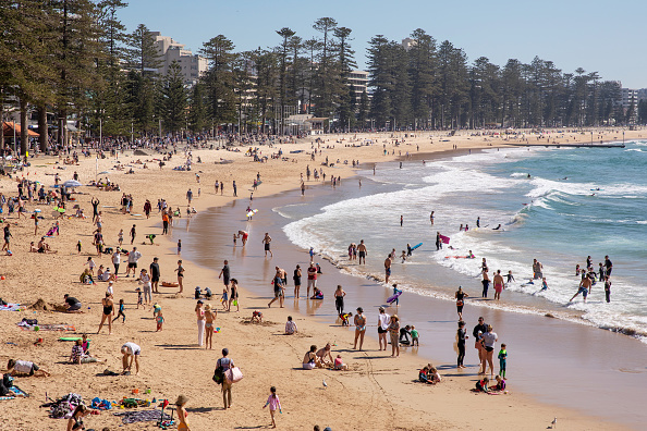 Weather「Sydneysiders Enjoy Warmer Than Average August Weather」:写真・画像(4)[壁紙.com]