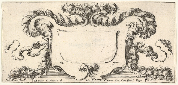 Blank「Plate 11: A Cartouche With Fruits」:写真・画像(15)[壁紙.com]