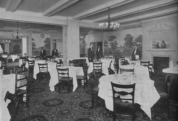 Domestic Kitchen「Breakfast Room, Roosevelt Hotel, New York City, 1924」:写真・画像(9)[壁紙.com]