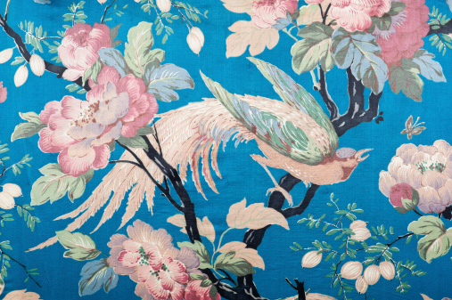 Floral Pattern「Antique floral fabric 88281-210-508 close up」:スマホ壁紙(19)