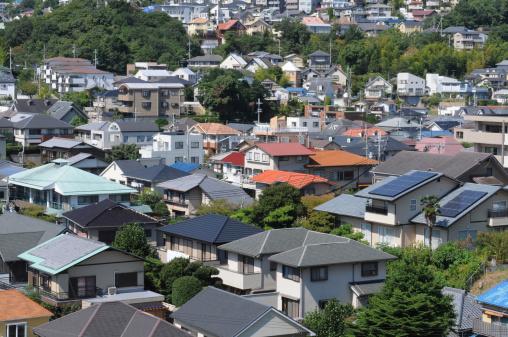 Japan「Cityscape, Nishinomiya city, Hyogo Prefecture, Japan」:スマホ壁紙(7)