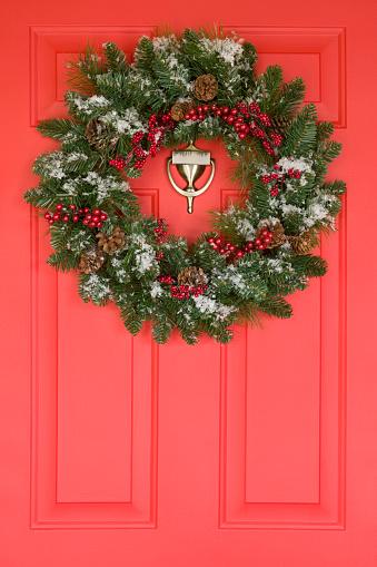 Front Door「Wreath on a Front Door」:スマホ壁紙(2)
