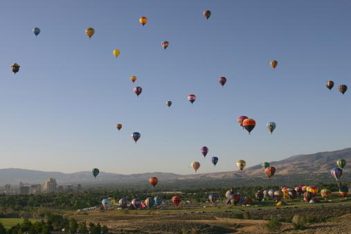 お祭り「Great Reno Balloon Race」:スマホ壁紙(9)