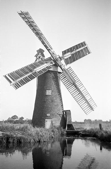 Norfolk Broads「Drainage Mill」:写真・画像(10)[壁紙.com]