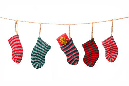 Christmas「Christmas clothesline」:スマホ壁紙(3)