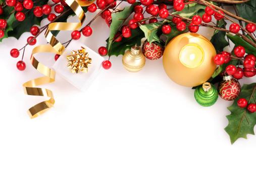 クリスマスカード「クリスマスカード、赤、緑、ゴールド」:スマホ壁紙(17)