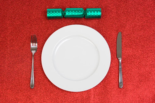 Christmas Cracker「Christmas cracker plate and knife and fork」:スマホ壁紙(8)