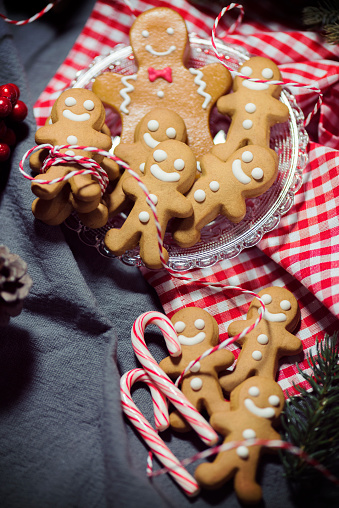 Candy Cane「Christmas Candy Cookie Parade - Gingerbread Men」:スマホ壁紙(6)