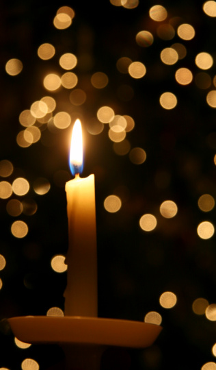 Religious Mass「christmas candlelight」:スマホ壁紙(1)