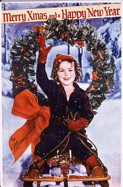 Shirley Temple Wishes Merry Christmas And Happy New Year:ニュース(壁紙.com)