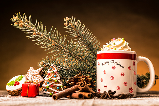 Gingerbread Cookie「Christmas cappuccino」:スマホ壁紙(4)