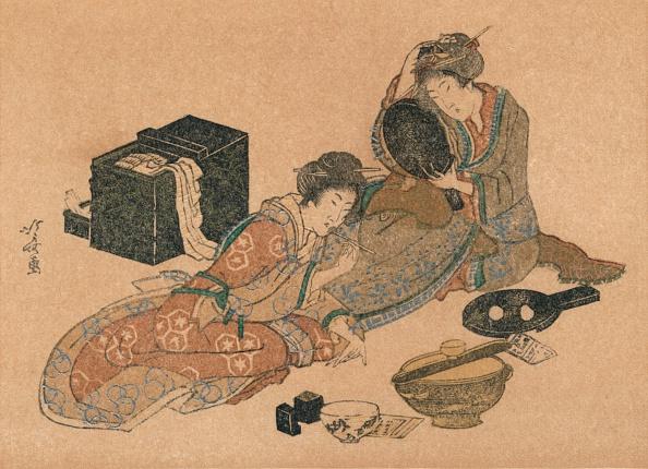 Lithograph「New-Year Card or Surimono c 1890」:写真・画像(14)[壁紙.com]
